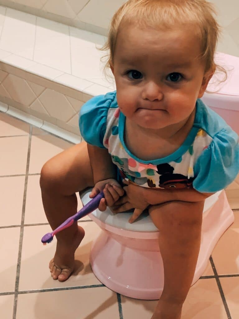 the scoop on potty training